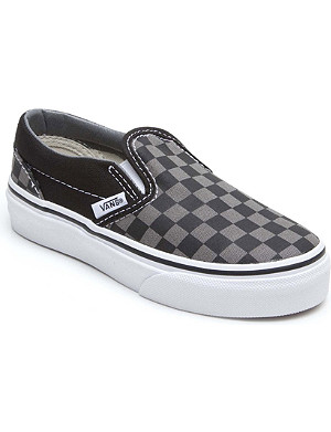 VANS Checkerboard slip-on trainers 4-9 years