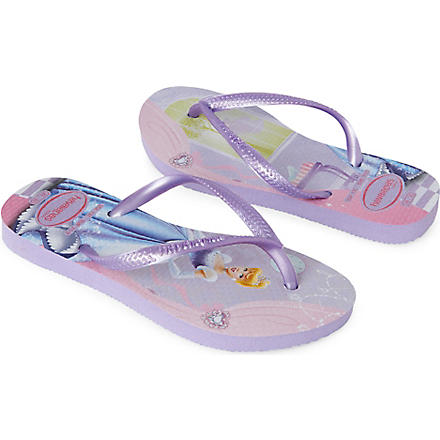 HAVAIANAS Slim Princess flip-flops 6-9 years (Lilac