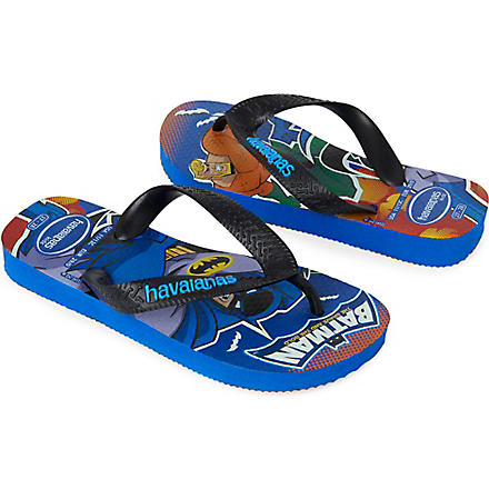 HAVAIANAS Heroes Batman flip-flops 6-9 years (Blue