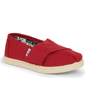 TOMS Unisex canvas espadrilles 2-10 years