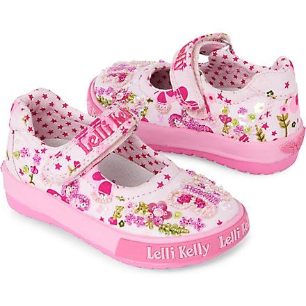 LELLI KELLY Butterfly toddler Dolly shoes 6 months-3 years (Pink