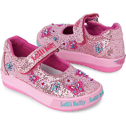 LELLI KELLY Kate toddler Velcro pumps 6 months-3 years (Pink