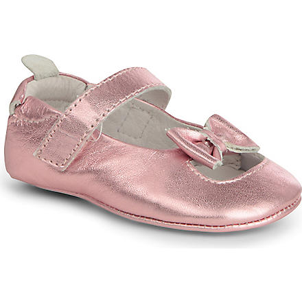 OLD SOLES Leather ballet shoes 6 months-1 year (Pink