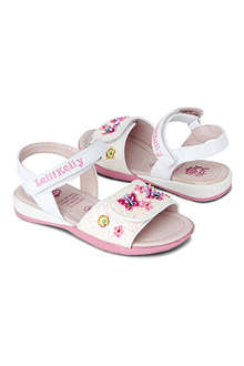 LELLI KELLY Floral embellished sandals 3-8 years