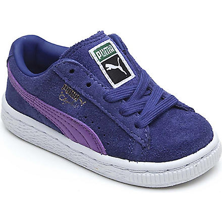 PUMA Clyde skater trainers 2-5 years (Blue