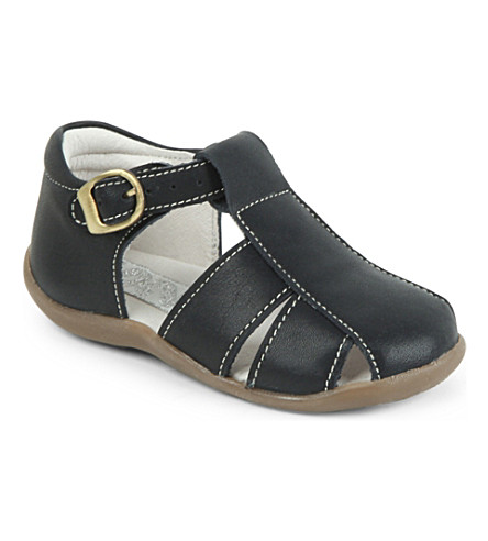 STEP2WO Tiny closed toe sandals 2-3 years (Navy+leather