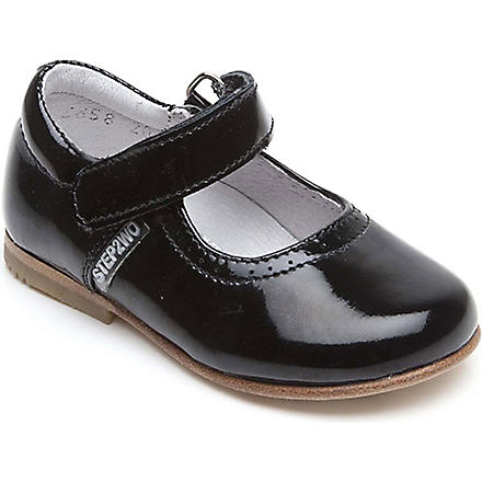 STEP2WO Sarah Mary Jane shoes 6 months-4 years (Black+patent