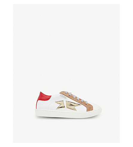 STEP2WO Savin leather trainers (Red