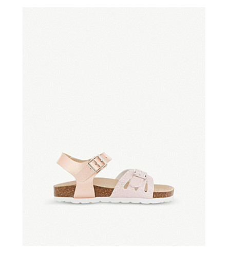 STEP2WO Mina 2 leather sandals 4-9 years (Rose+gold