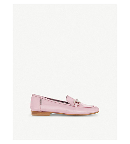 STEP2WO Monaco patent leather loafers 6-10 years (Pink+metallic