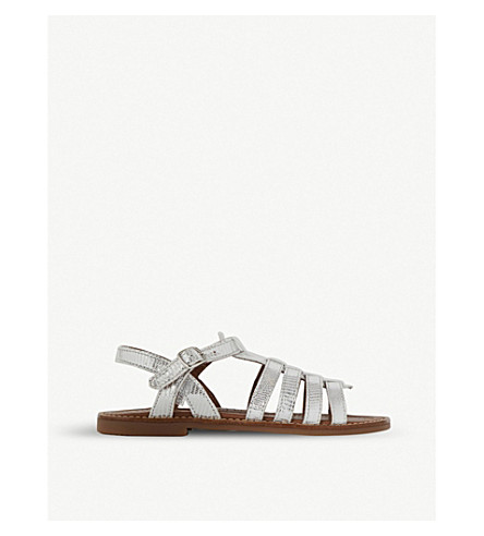 STEP2WO Marla Marla leather sandals 5-10 years (Silver