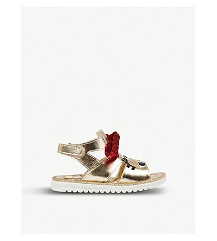 968b14b10bdf87 STEP2WO - Betty 2 metallic leather sandals 1-6 years