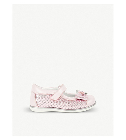 STEP2WO Crystal leather shoes 6 months – 5 years (Pink+leather