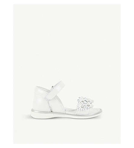 STEP2WO Flower leather sandals 1.5 years - 11.5 years (White+leather