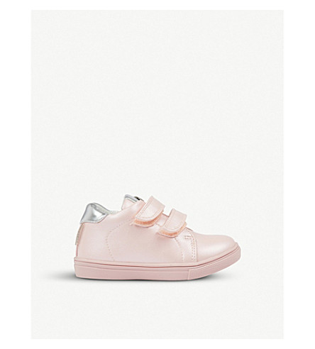 STEP2WO Eileen leather trainers (Pink+leather
