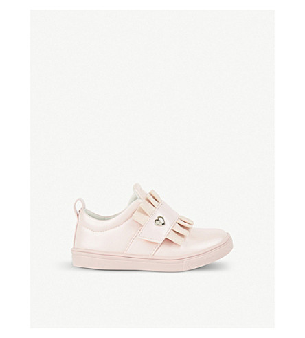 STEP2WO Peta leather trainers 3-10 years (Pink+leather
