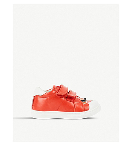 STEP2WO Sammy leather trainers 2-5 years (Red+leather