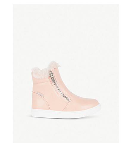 STEP2WO Parker leather booties 2-4 years (Pink