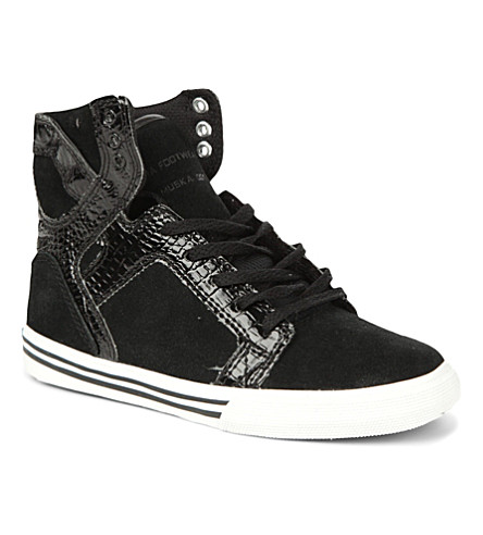 SUPRA High-top trainers 6-10 years (Black
