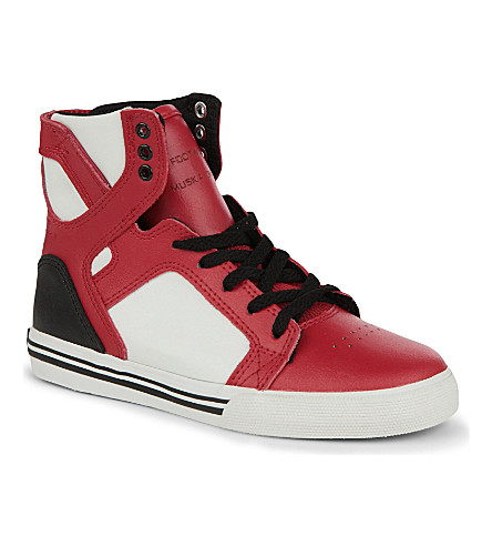 SUPRA High-top trainers 6-10 years (Red