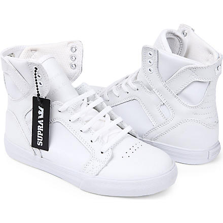 SUPRA High-top trainers 6-10 years (White