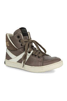 GF FERRE Luxury high top trainers 7-12 years