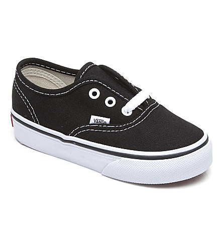 VANS Authentic trainers 3-11 years (Black