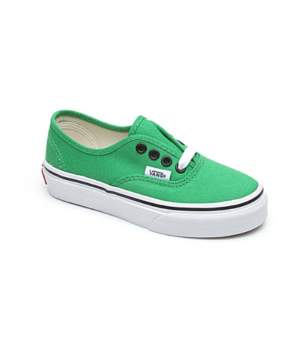 VANS Authentic trainers 3-11 years (Green