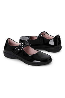 LELLI KELLY Black patent leather shoes with changeable strap 5-9 years