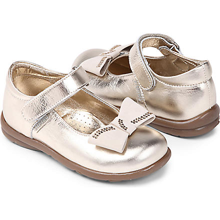 STEP2WO Zilla Mary Jane shoes 2-7 years (Gold+leather