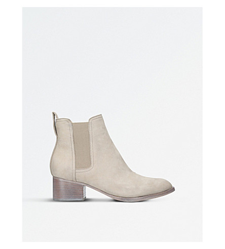 RAG AND BONE Walker suede Chelsea boots (Grey+mid