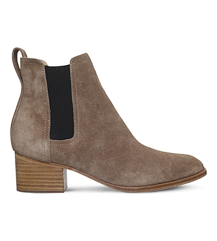 RAG AND BONE Walker suede Chelsea boots (Camel