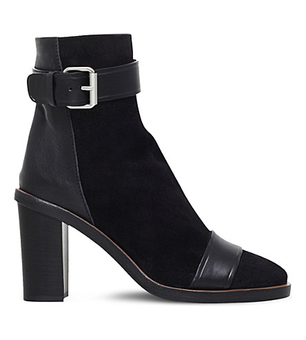 ISABEL MARANT Gussie suede ankle boots (Black