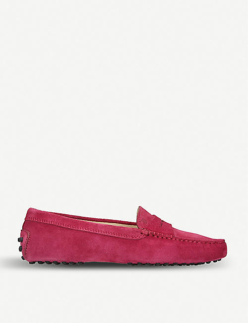Loafers for Women On Sale, Strawberry, Leather, 2017, 2.5 3.5 4 5.5 8.5 Tod's