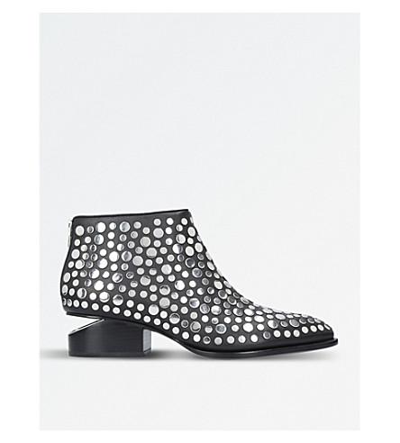 ALEXANDER WANG Studded leather Kori oxford shoes (Black