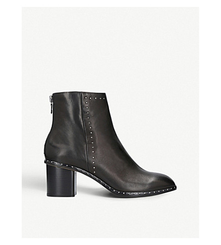 RAG AND BONE Willow micro-stud leather heeled ankle boots (Black