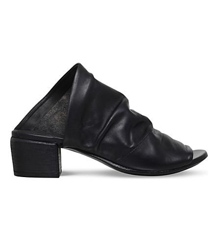 MARSELL Bo Sandalo leather sandals (Black