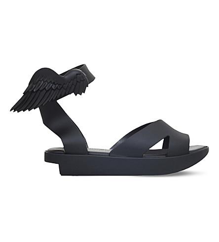 MELISSA + VIVIENNE WESTWOOD Rocking Horse flatform sandals (Black