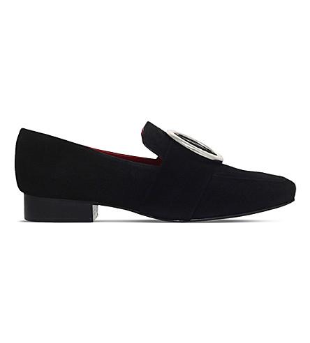 DORATEYMUR Harput velvet loafer (Black
