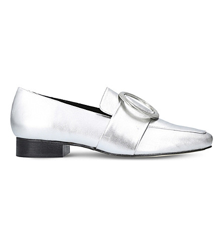DORATEYMUR Harput metallic leather loafers (Silver