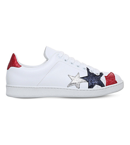 HILFIGER COLLECTION Stars leather trainers (White/oth