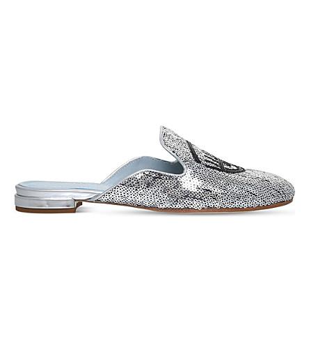 CHIARA FERRAGNI Flirting sequin slippers