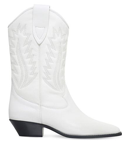ISABEL MARANT ETOILE Dallin leather cowboy boots