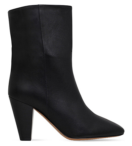 ISABEL MARANT ETOILE Darilay leather ankle boots