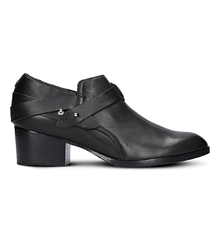 RAG AND BONE Harley leather ankle boots (Black