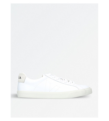 VEJA Esplar leather trainers (White