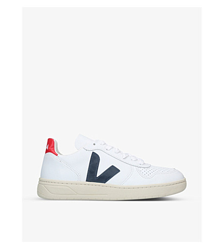 VEJA V10 leather trainers (White/oth