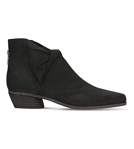 LD TUTTLE The Marble suede ankle boots (Black
