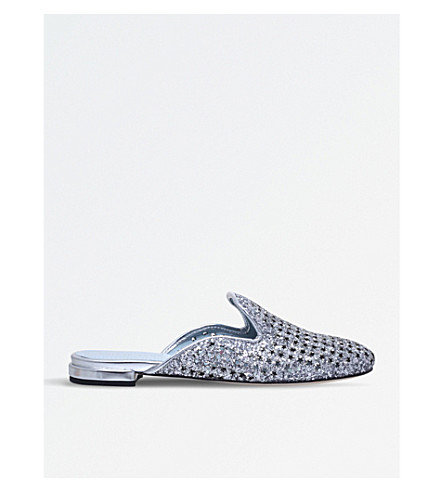 CHIARA FERRAGNI Flirting slippers (Silver
