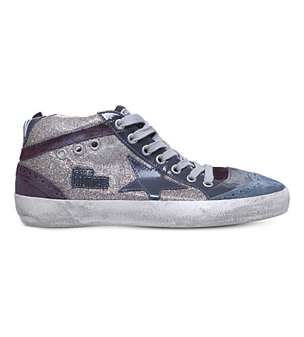 GOLDEN GOOSE Mid Star G4 leather trainers (Mult/other